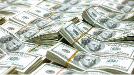 Los depósitos en dólares crecieron 255 millones
