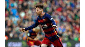 Messi es el único argentino en el equipo ideal del año de France Football