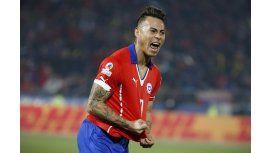 El goleador de Chile sigue gozando a Argentina: Son hijos nuestros
