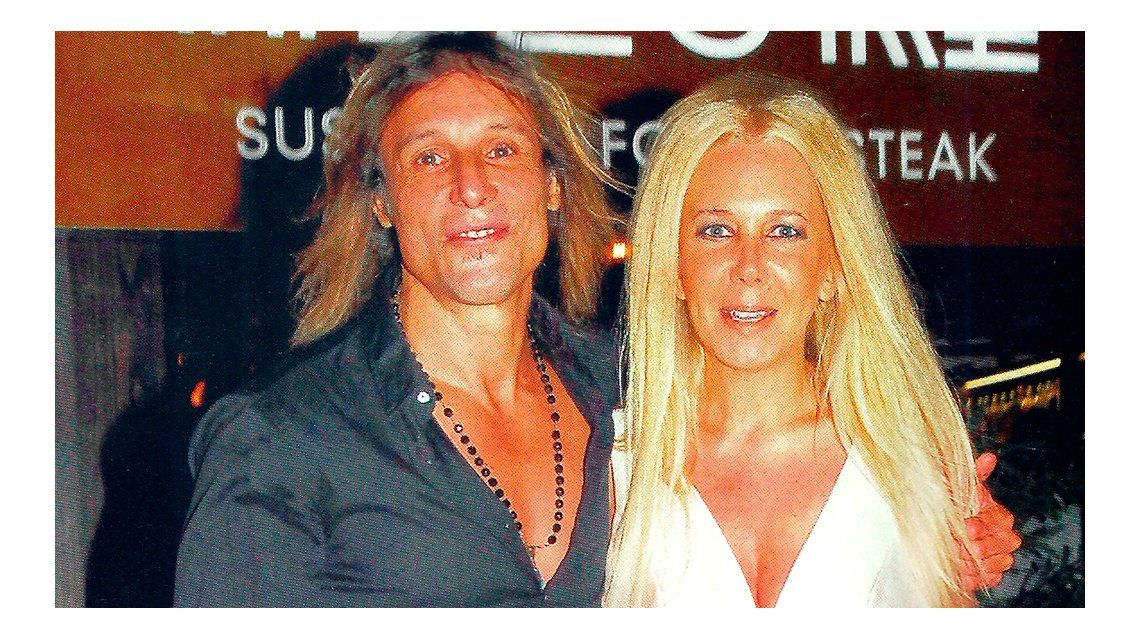 Mariana Nannis y Claudio Caniggia, de visita en Buenos Aires