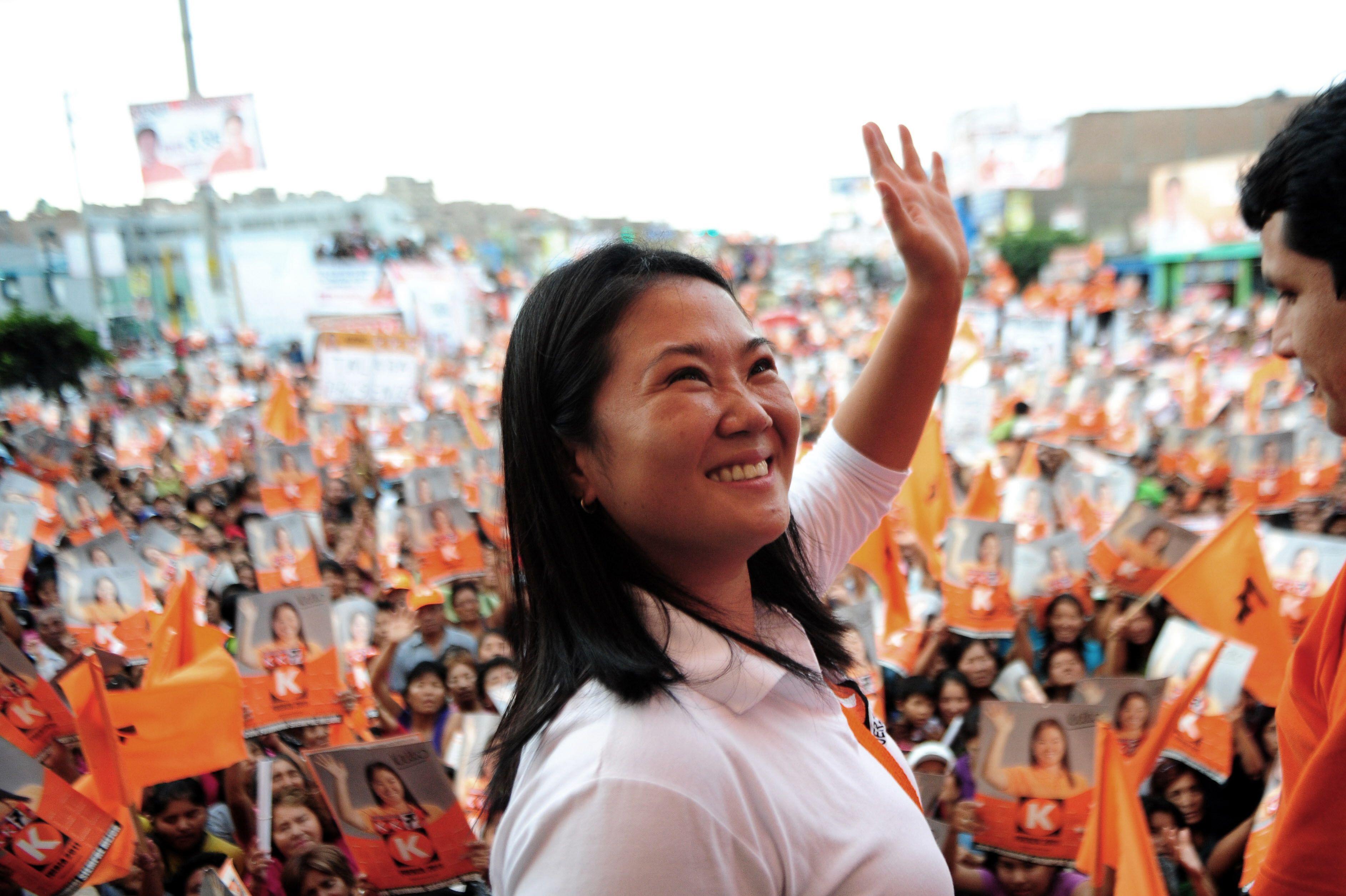 La hija de Fujimori lidera las encuestas de cara a las presidenciales de Perú