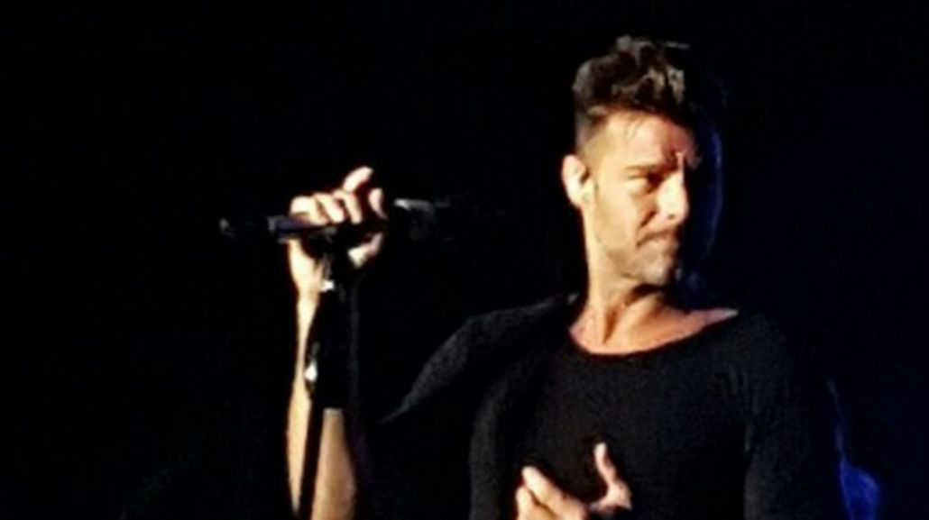 Ricky Martin hizo un recital en Buenos Aires