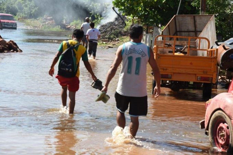 Más de mil evacuados en Formosa por la crecida de los ríos Paraguay y Pilcomayo
