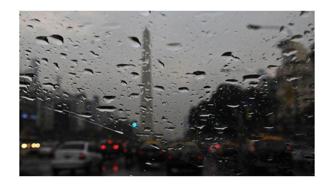 Cesó el alerta por tormentas y granizo para la Ciudad y el Conurbano
