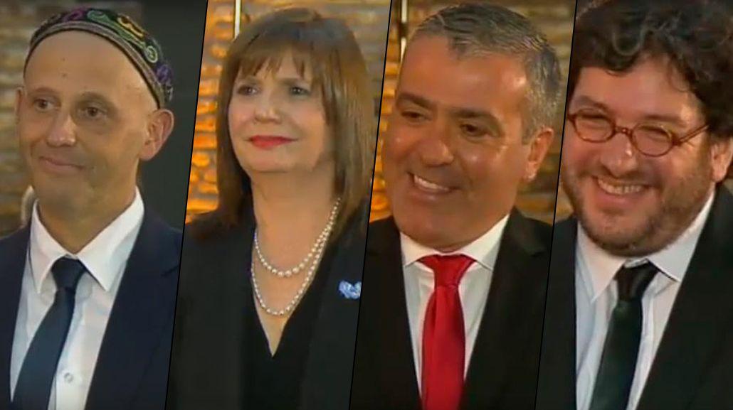Labios rojos y el George Clooney tucumano, las perlas de la jura del Gabinete de Macri