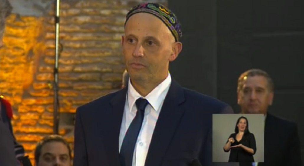 La jura del rabino Sergio Bergman fue sobre la biblia hebrea