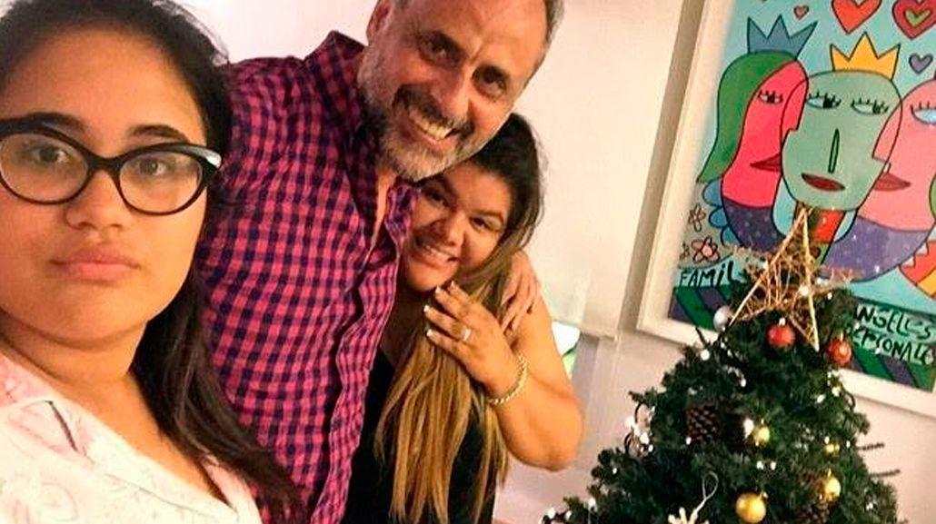 Jorge Rial, íntimo y en familia: Después de cuatro años mis hijas quisieron armar el árbol