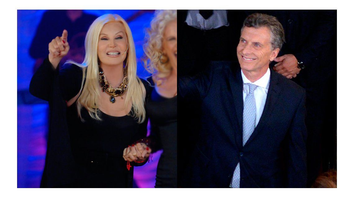 Susana Giménez: Estoy muy contenta con la asunción de Mauricio Macri