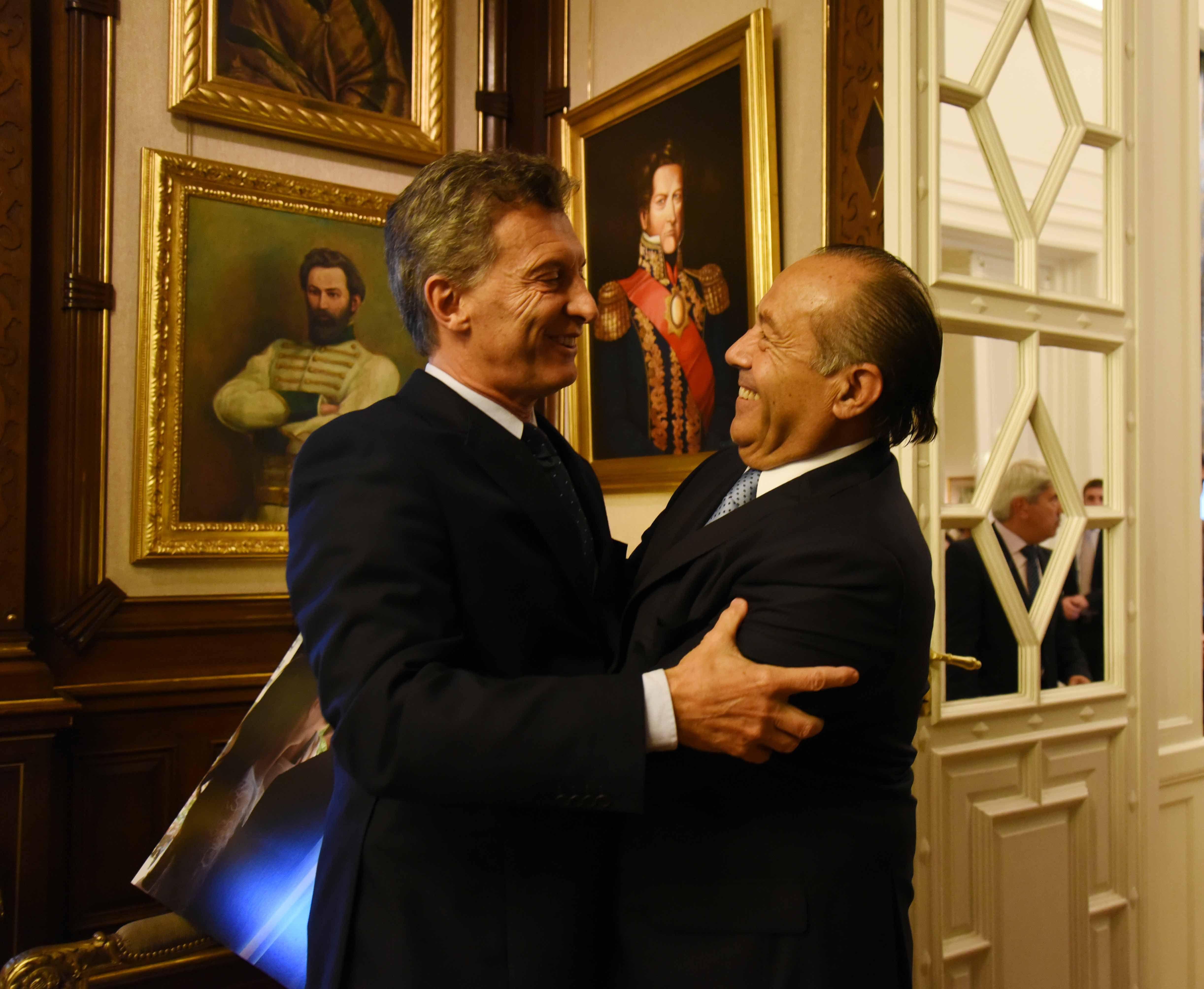 El Adolfo con Macri: Va a contar con todo nuestro apoyo