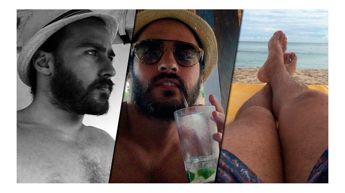 Las divertidas vacaciones de Nico Francella en México