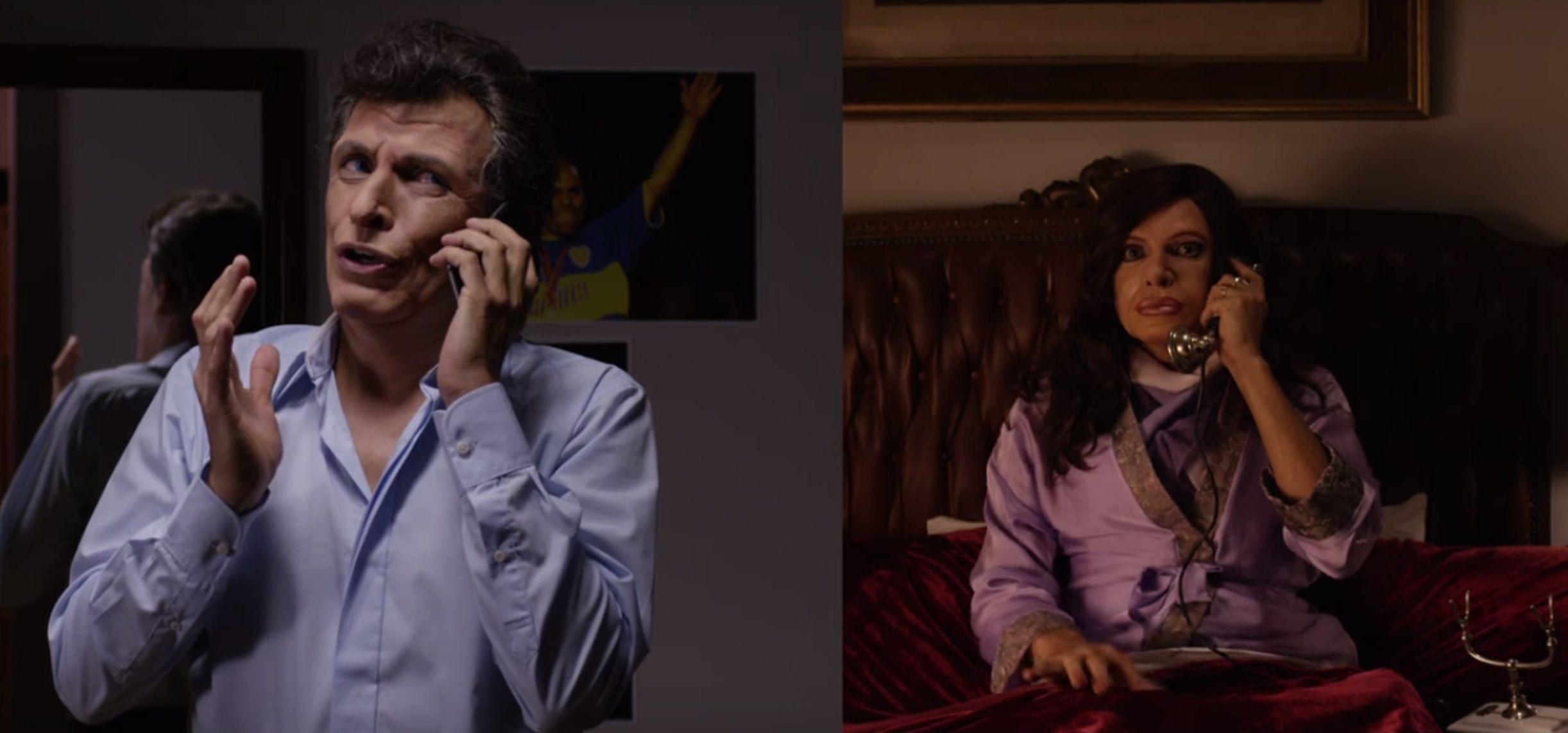 VIDEO: La desopilante y emotiva charla entre Cristina Kirchner y Mauricio Macri