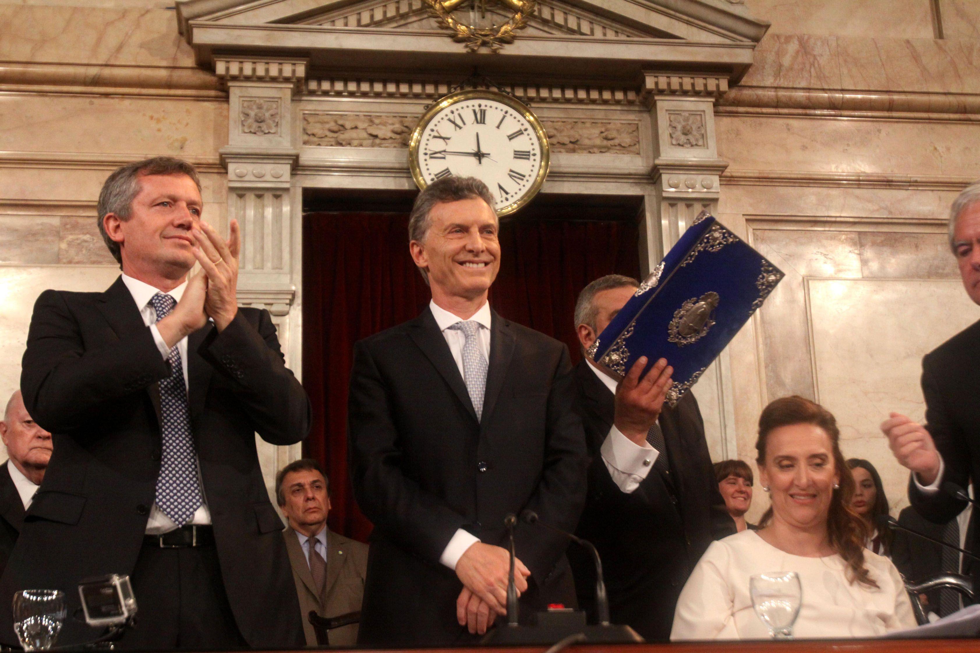 Macri abrirá su primer período de sesiones ordinarias en el Congreso
