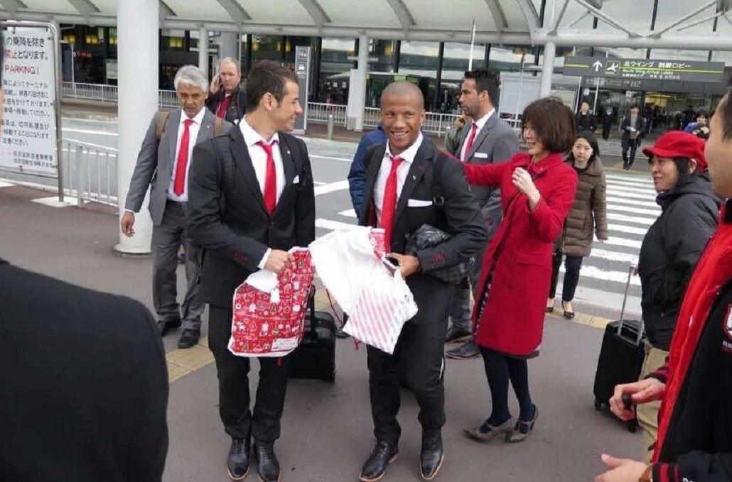 El plantel de River ya llegó a Japón para jugar el Mundial de Clubes