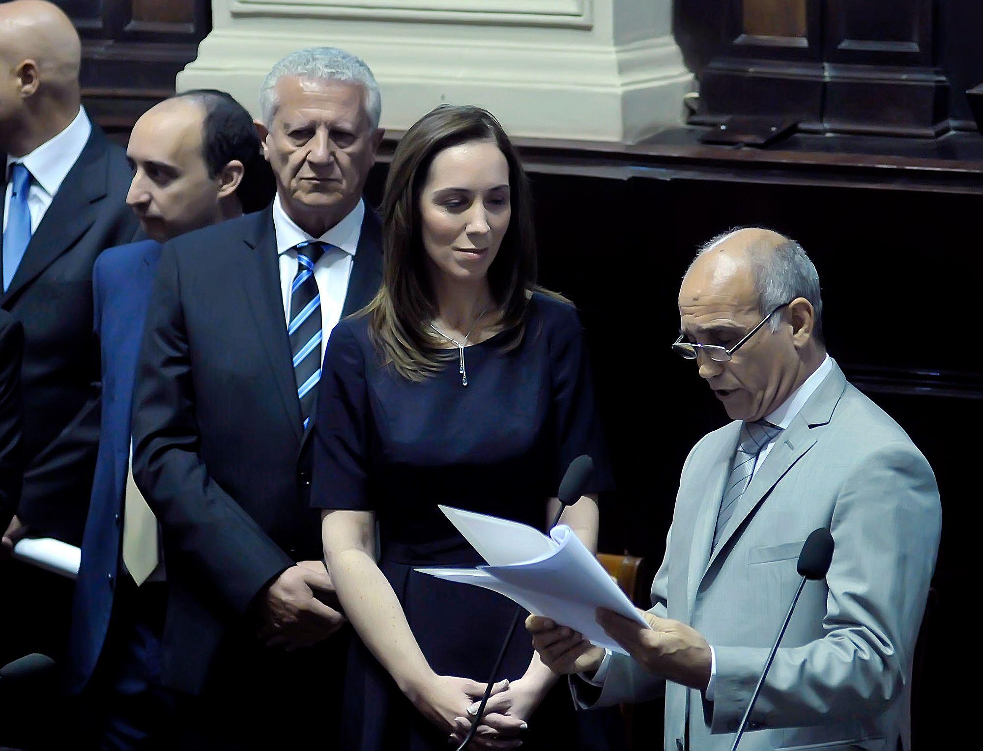 Primer discurso de Vidal como gobernadora: La Provincia está quebrada