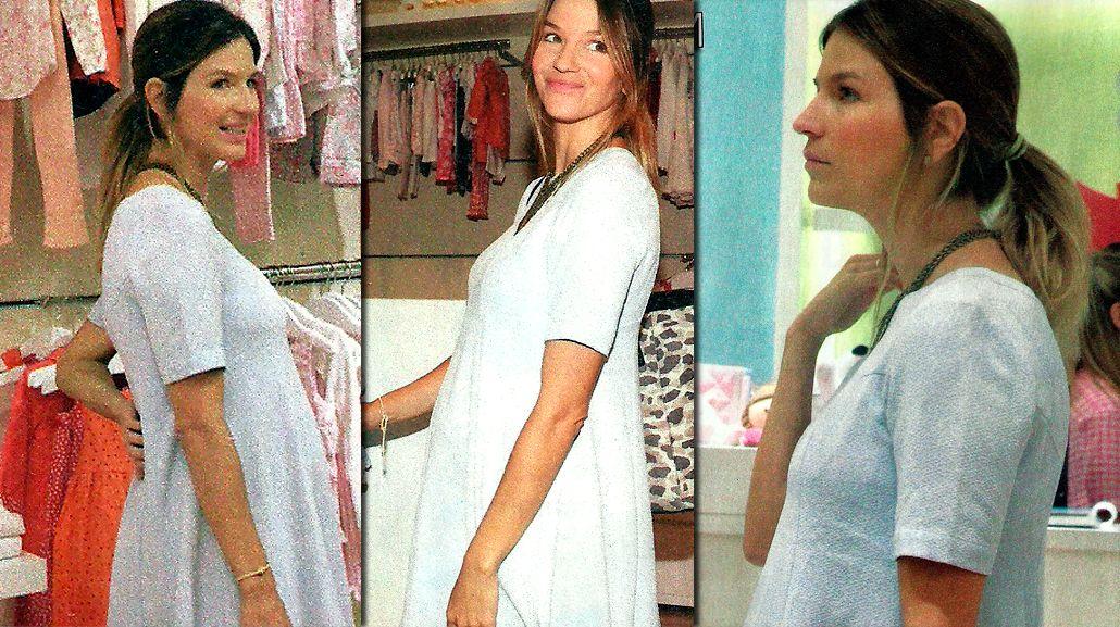 Las fotos de Marcela Kloosterboer, embarazada de seis meses