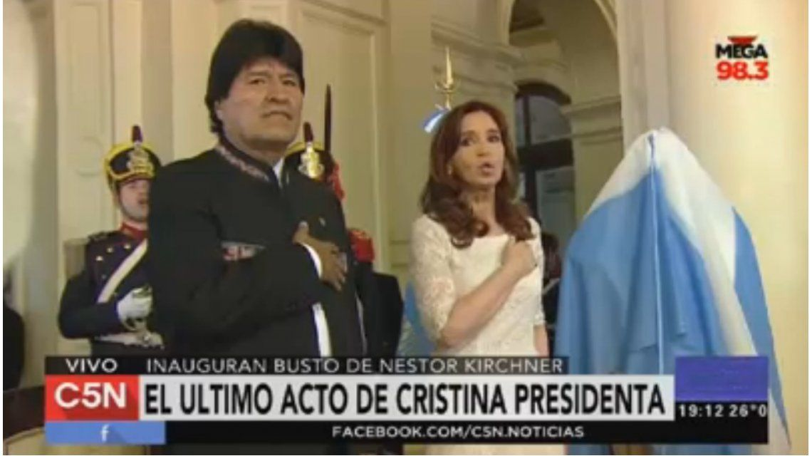 VIDEO: Reviví el último discurso de Cristina Kirchner como Presidenta