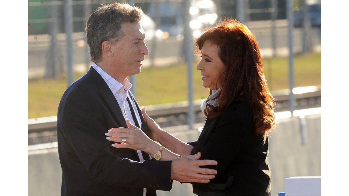 La ironía de Macri sobre Cristina en el anuncio por Ganancias