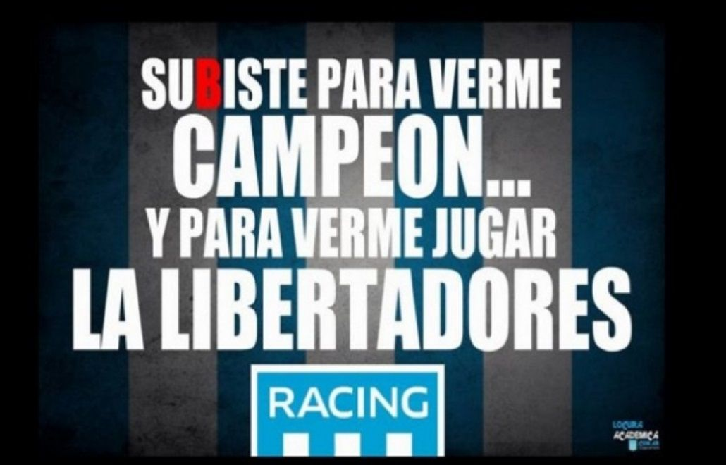 Llegaron los afiches: Racing se ríe de Independiente tras el clásico