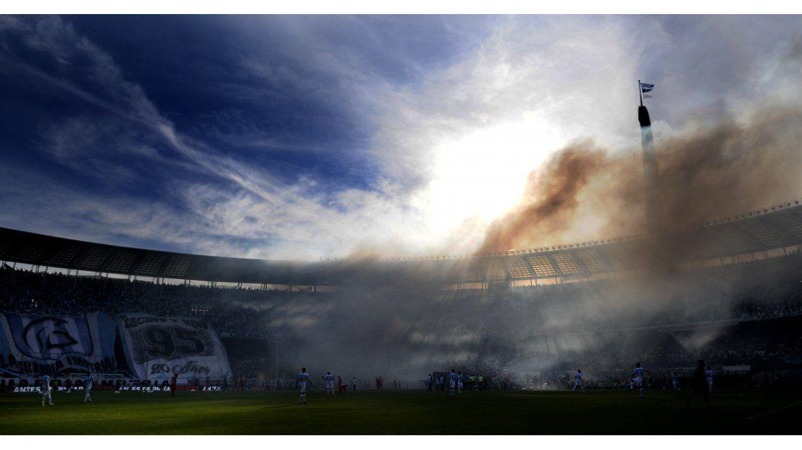 Las fotos de la clasificación de Racing a la Libertadores