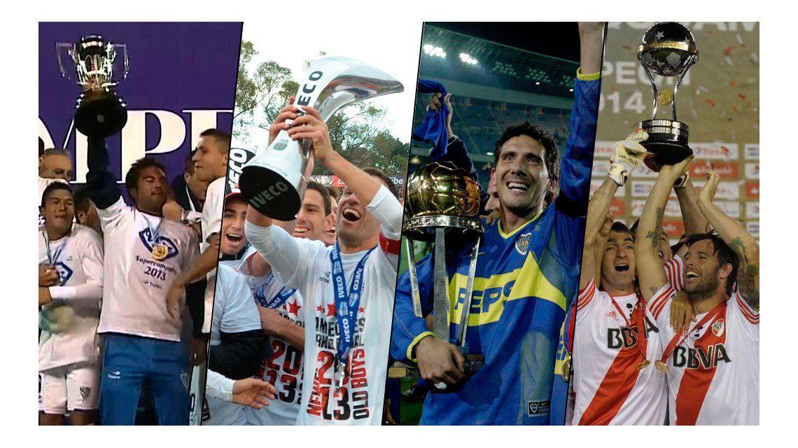 ¿Cuáles fueron los campeones del fútbol argentino en la Era K?