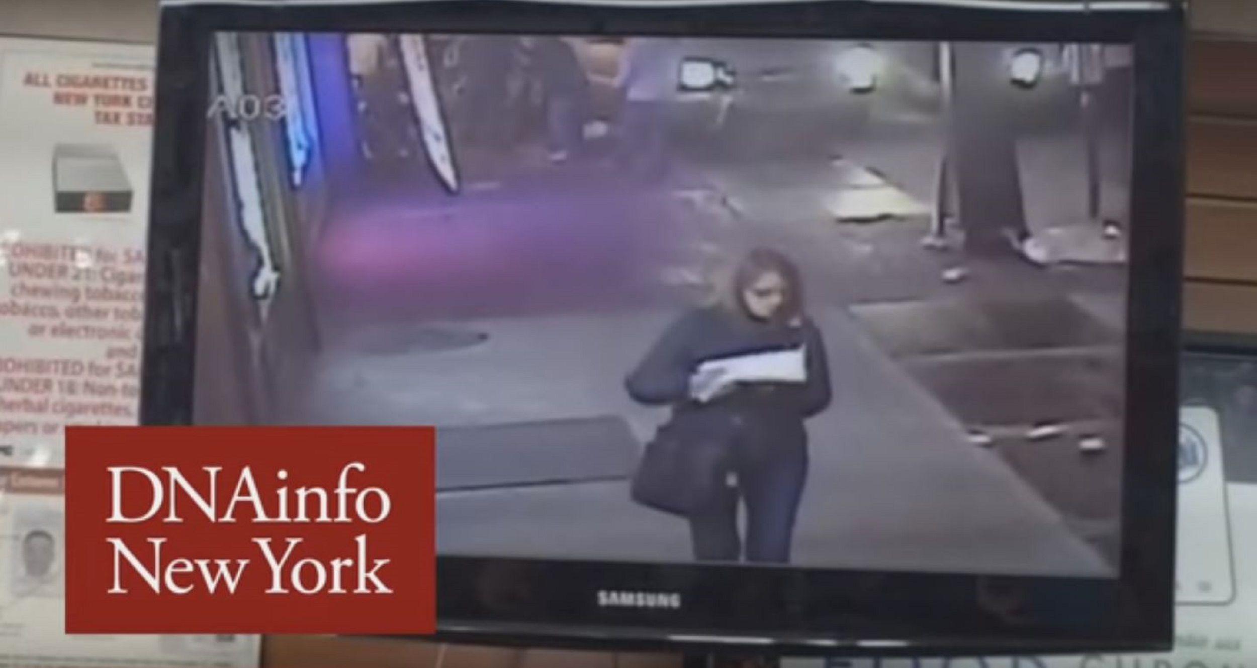 No le importó nada: vio cómo atropellaban a una persona, le dio un bocado a su pizza y se fue