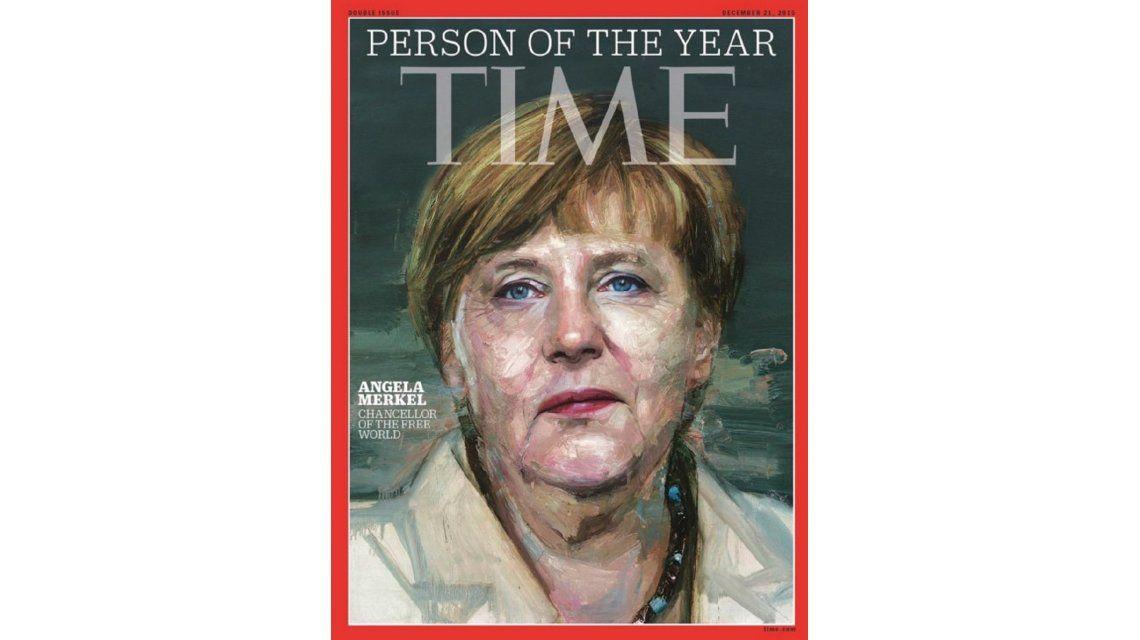 Angela Merkel es elegida la persona del año por la revista Time