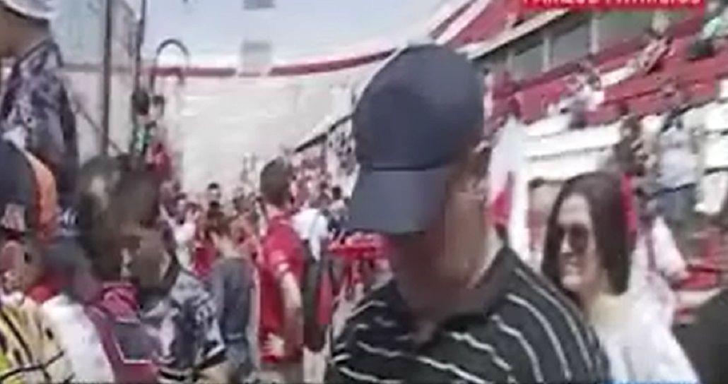VIDEO: Mirá el banderazo de los hinchas de Huracán en el Tomás Ducó
