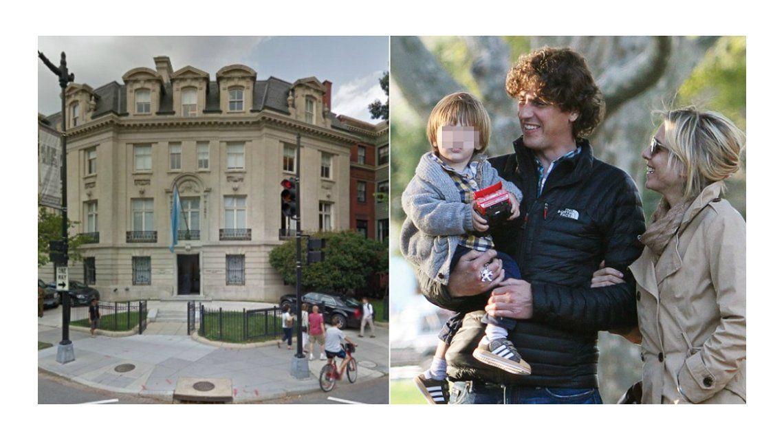 La nueva vida de Carla Peterson y Martín Lousteau con su hijo en Estados Unidos