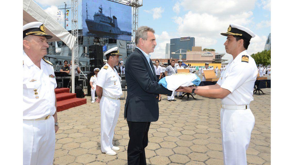 La Armada incorporó buques rusos que serán destinados a la Antártida