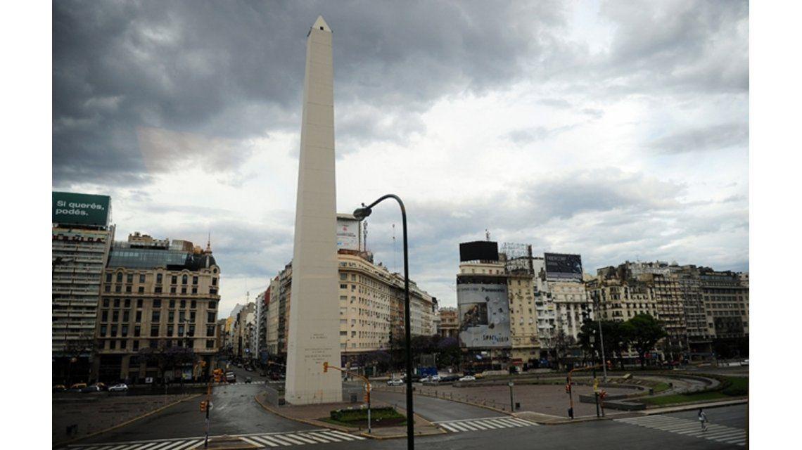 Domingo con lloviznas aisladas en Capital y Gran Buenos Aires