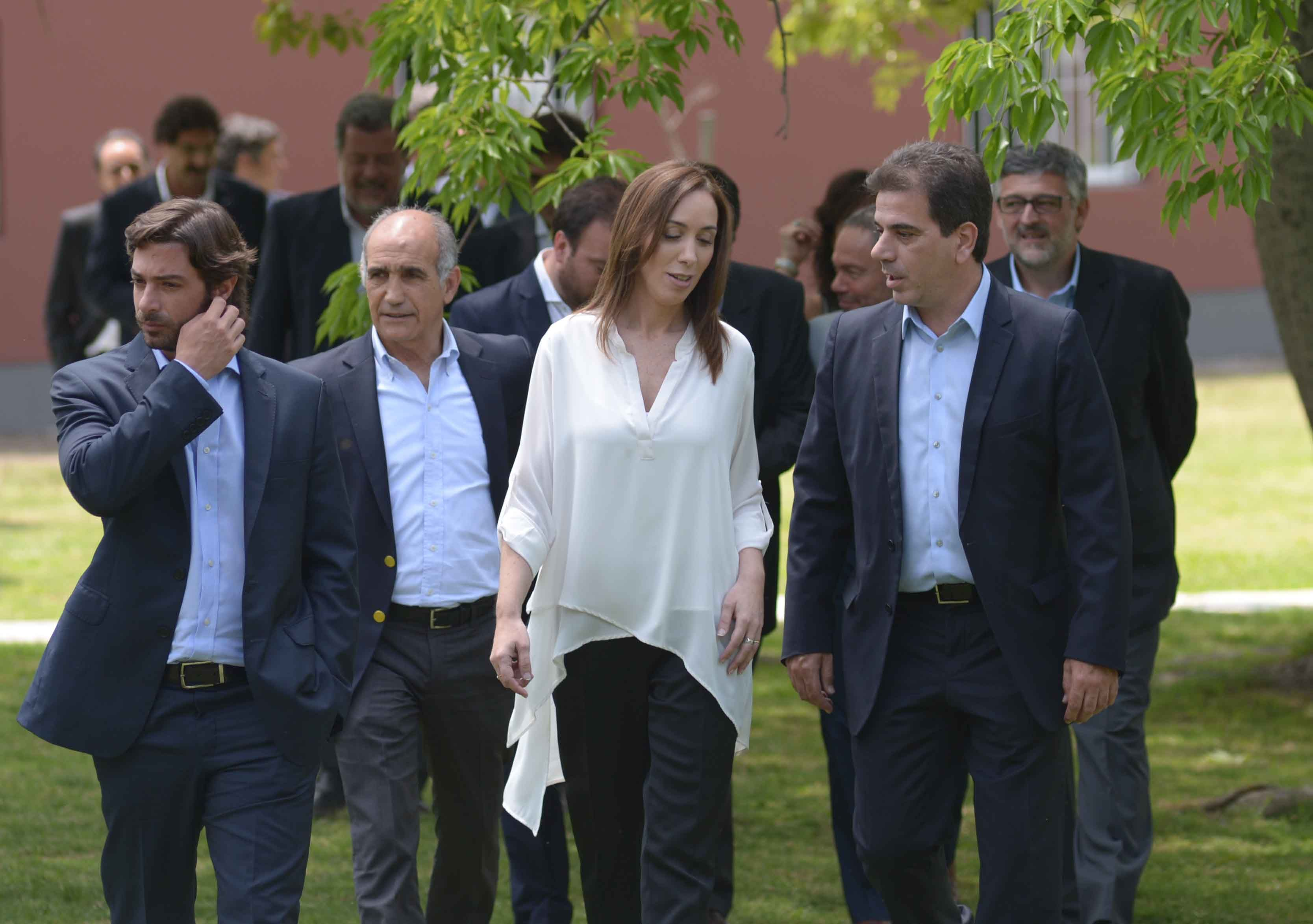 Tras la reunión con su gabinete, Vidal enviará el Presupuesto a la Legislatura