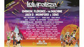 Últimos días para la preventa del Lollapalooza 2016