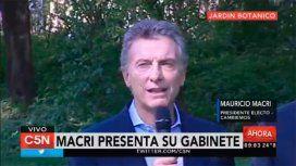 Macri ya practica para su viaje a Brasil