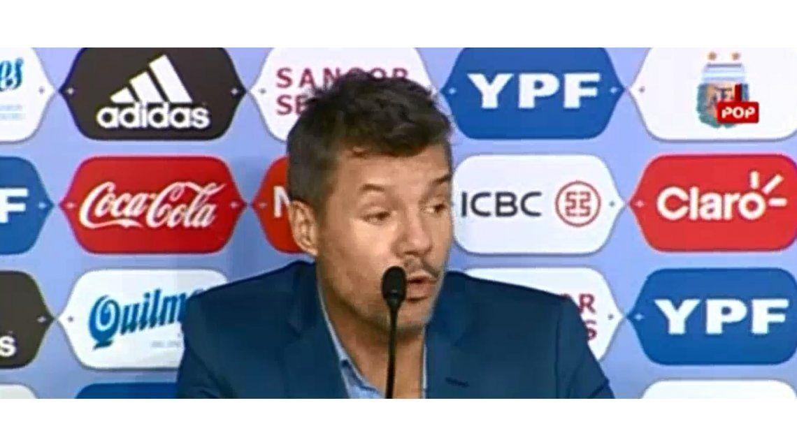 Marcelo Tinelli confirmó que sera candidato para ser presidente de la AFA