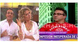 Sergio Lapegüe  contó la mala relación que tuvo Maru Botaba