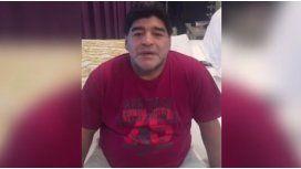 Video: así llegaba Maradona a la Argentina