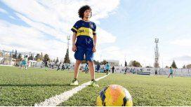 Rulo, el crack de 11 años que jugará en Boca cuando termine la primaria