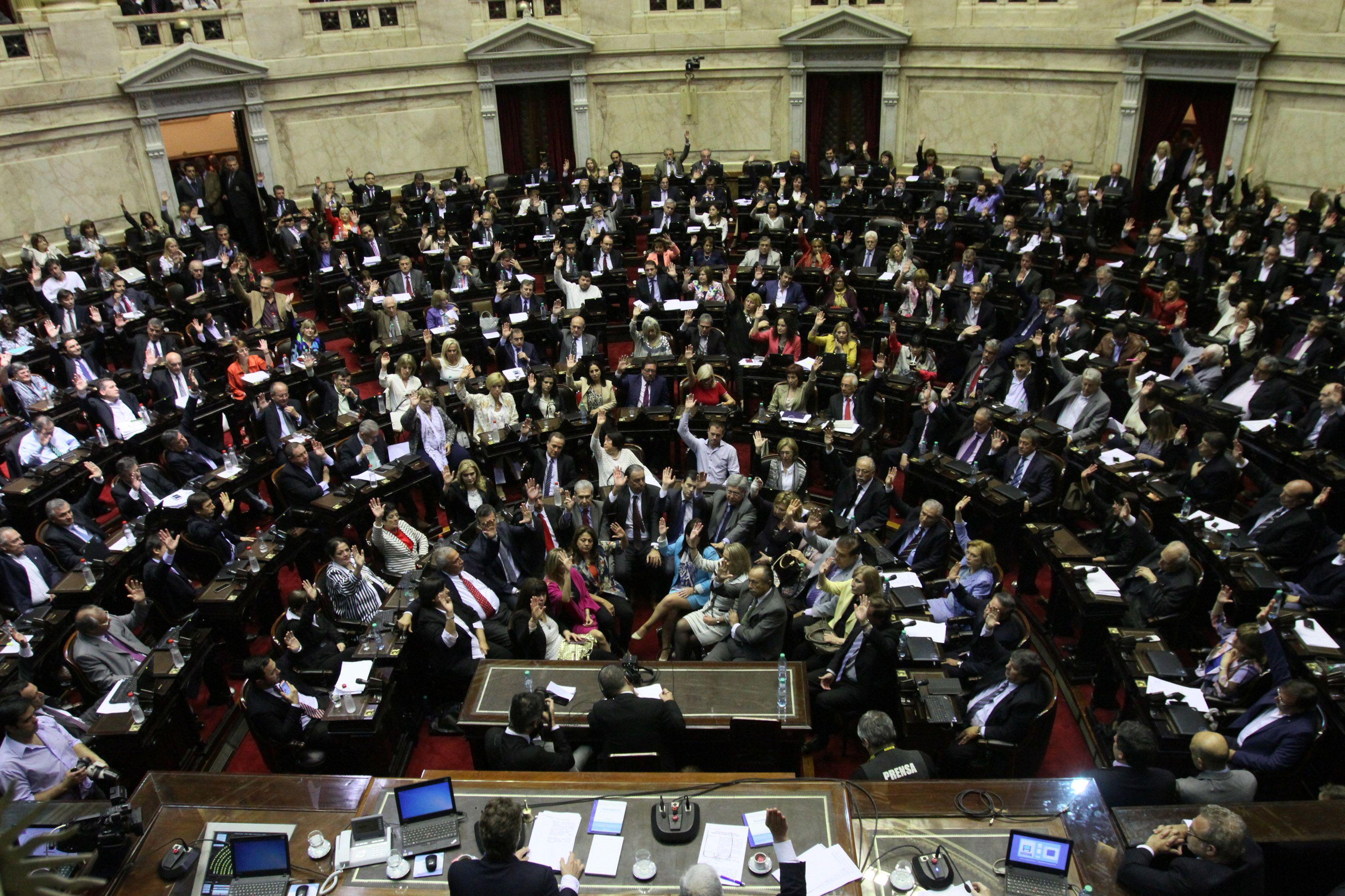 Gobierno se aseguró el quórum para la sesión por fondos buitre