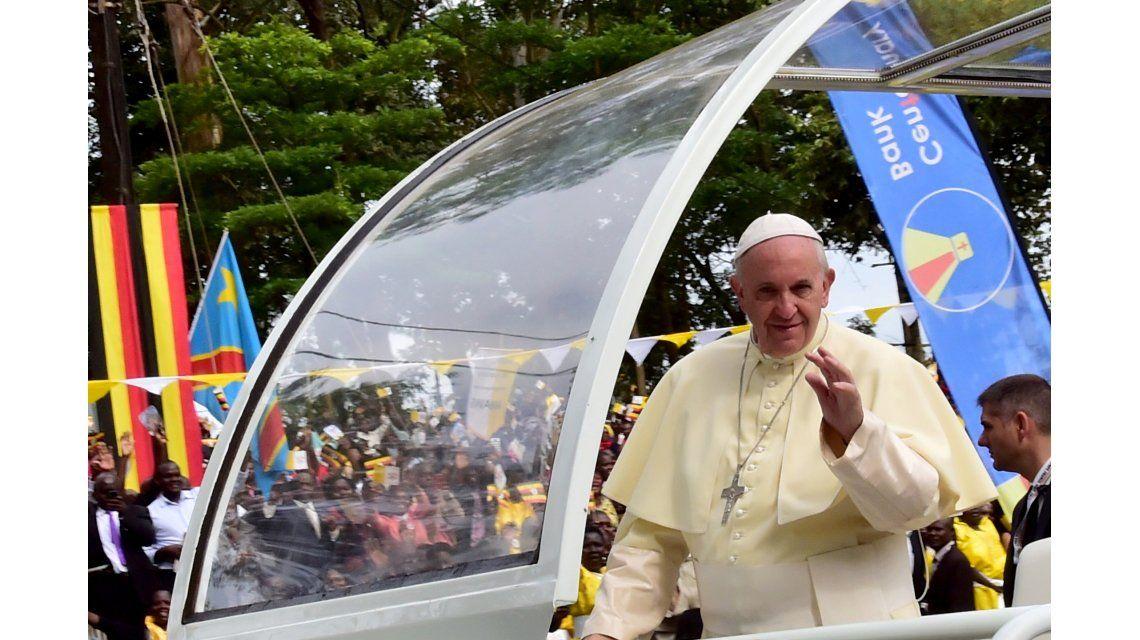 Mirá la última misa del Papa Francisco en África