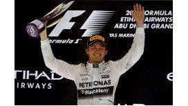 Nico Rosberg ganó de punta a punta en Abu Dhabi
