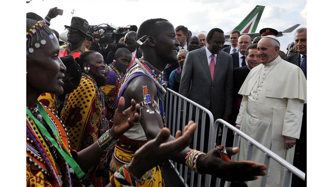 Mirá la misa del Papa Francisco en Kenia