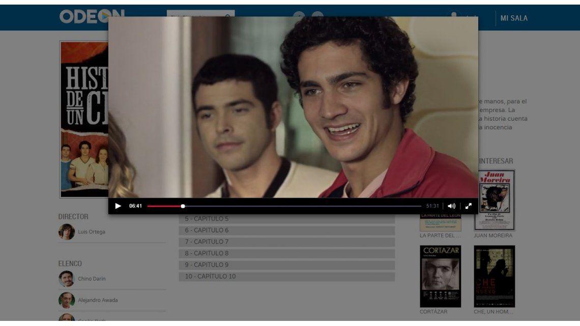 Paso a paso: ¿cómo ver películas en Odeon, el Netflix argentino?