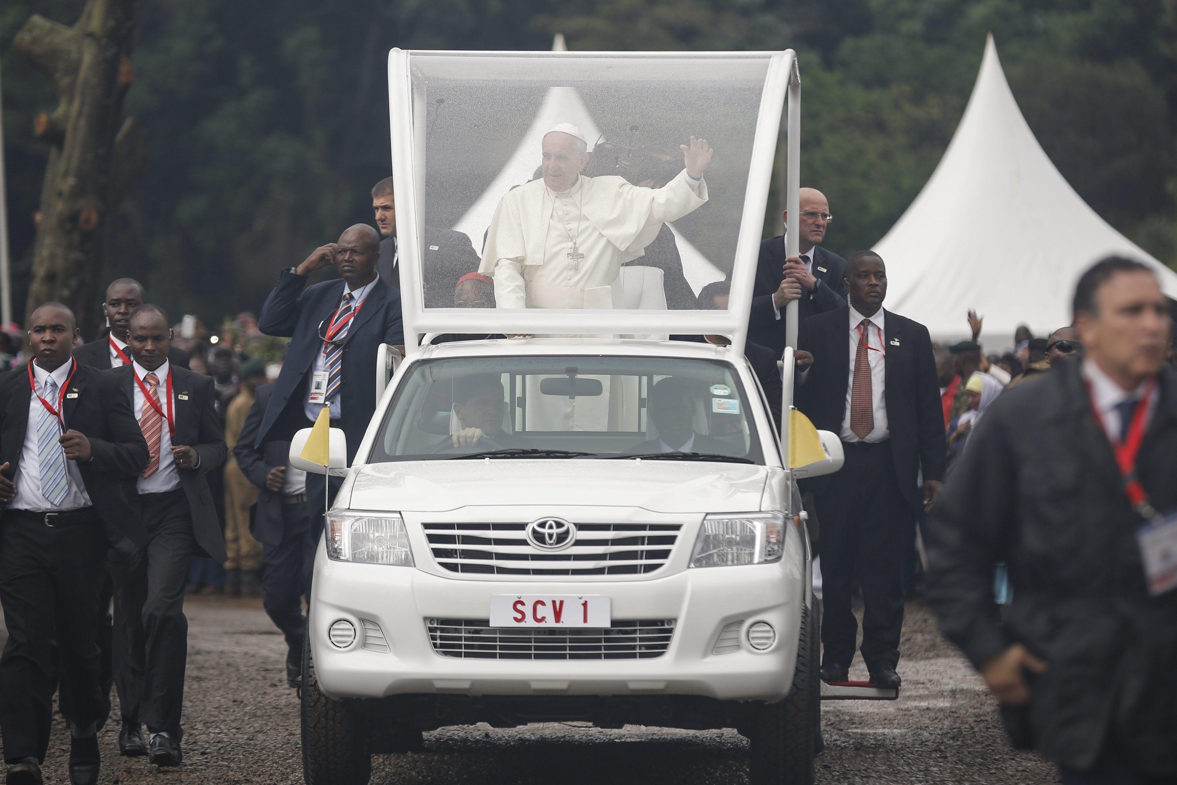 Mirá el encuentro del Papa con los jóvenes en Kenia