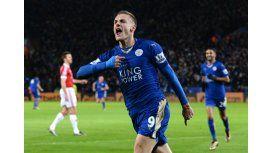 Jamie Vardy, el jugador del momento en Inglaterra que rompió un récord