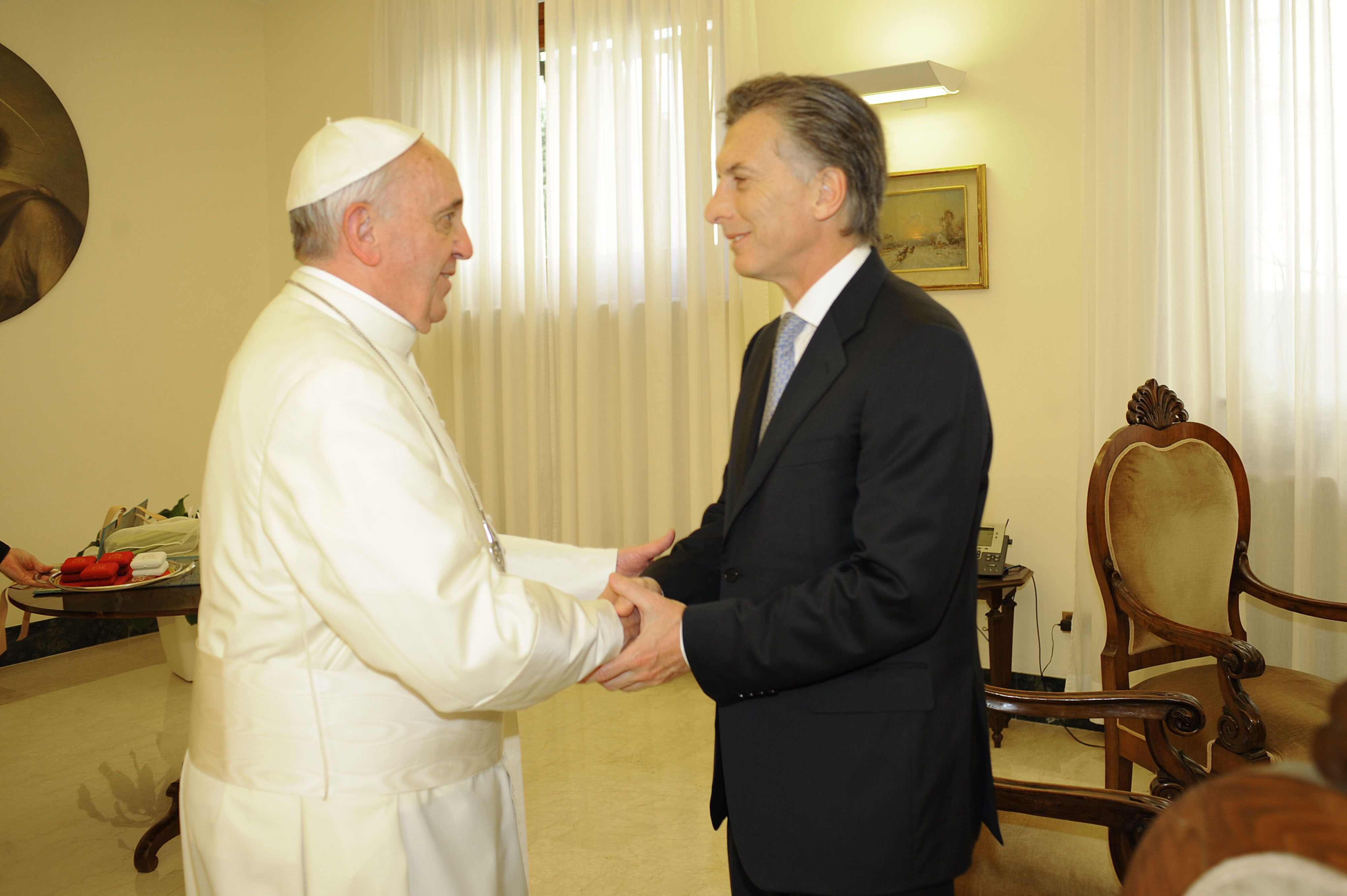 Macri llamó al papa Francisco por su cumpleaños