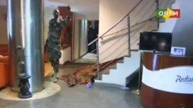 VIDEO: Así ingresaron las fuerzas de seguridad al hotel Radisson de Mali