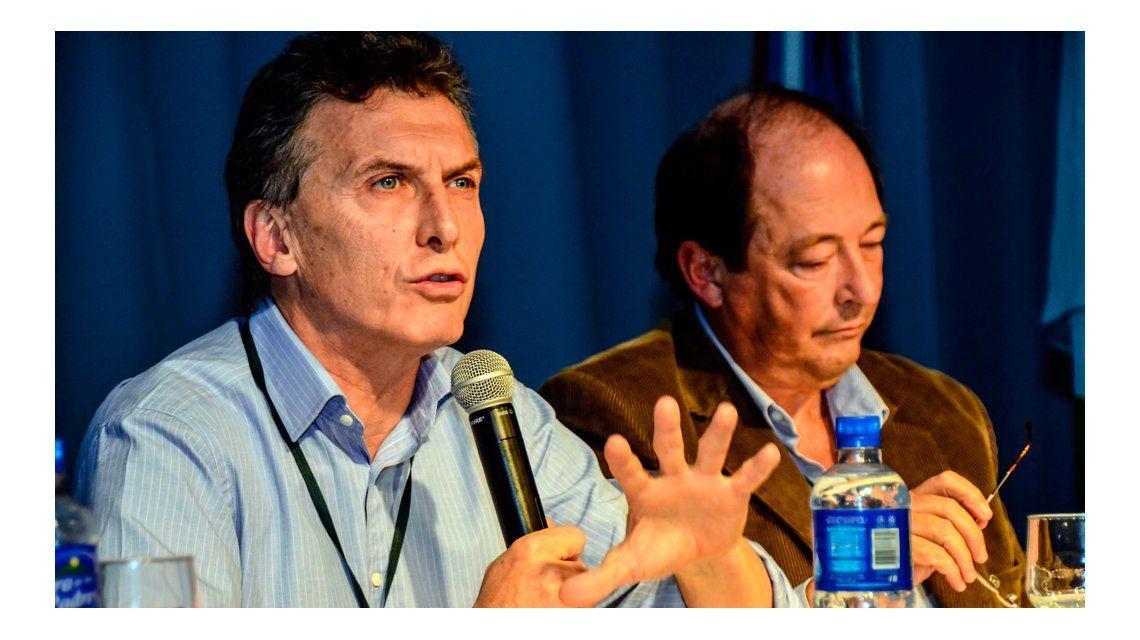 Macri recibió a Sanz y compartieron una reunión con funcionarios del área económica
