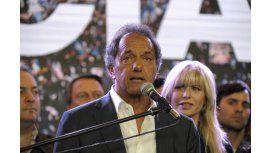 Scioli: Desde el 11 de diciembre mi oficina estará en la calle