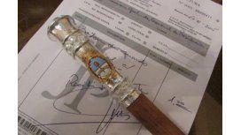 Conocé el bastón de mando que utilizará el próximo presidente argentino