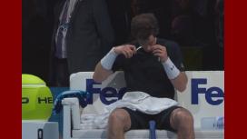 Insólito: Murray se cortó el pelo en pleno partido contra Nadal